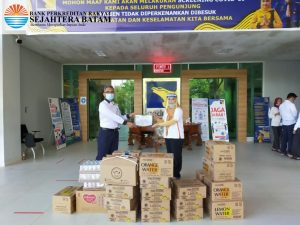 SB Peduli Covid-19 – Penyerahan Makanan dan Minuman ke Tim Medis @RS BP-Batam (11-06-2020)