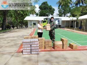 SB Peduli Covid-19 – Penyerahan Makanan dan Minuman ke Tim Medis @RSKI Pulau Galang (11-06-2020)