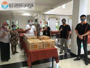 SB Peduli Covid-19 – Penyerahan Makanan dan Minuman ke Tim Medis @RS Budi Kemuliaan (10-06-2020)